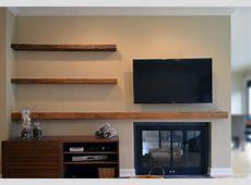 Floating TV Stand DIY — Derektime Design Design Creative