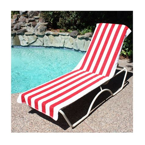 towel towel tanning lounge chair pocket pool