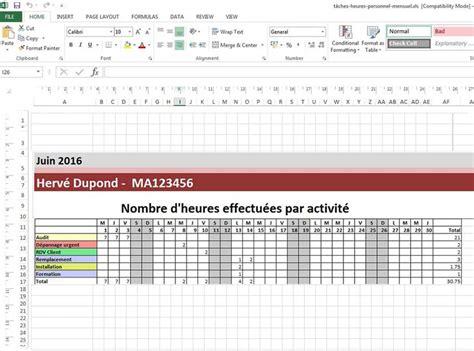 modèle de planning de travail mod 232 les de planning excel 224 t 233 l 233 charger gratuitement