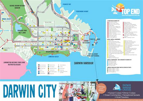 tourism top  travel maps northern territory