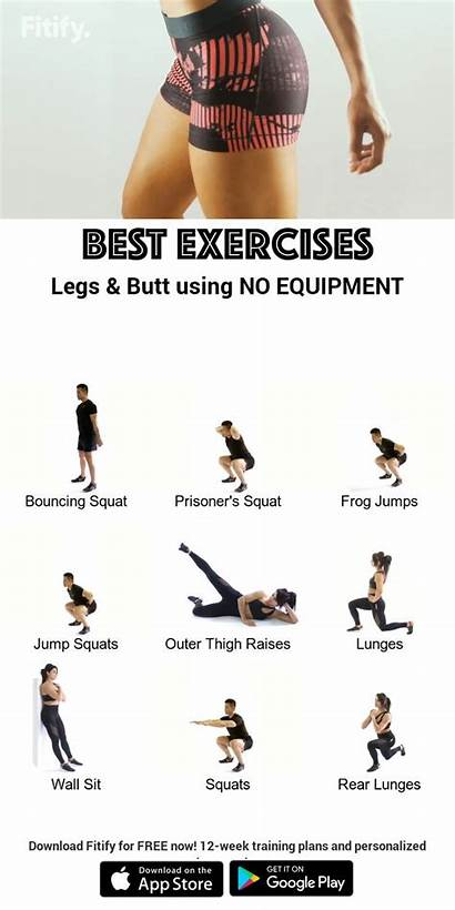 Without Butt Equipment Workout Leg Gym Training