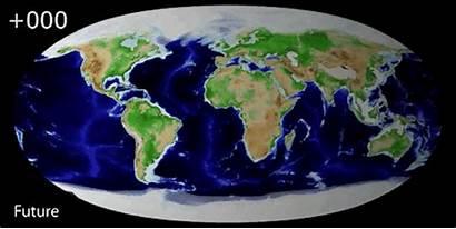 Plate Future Tectonics California Scotese Away Pangea