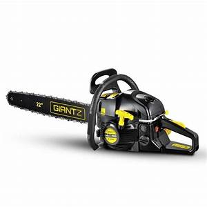 Powerful Petrol Chainsaw W   Carry Bag And Safety Set
