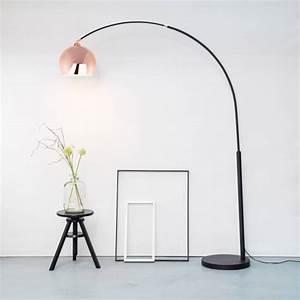 Stehlampe Retro Design : moderne kupfer bogenleuchte bogenlampe stehlampe retro lounge design h 200 cm ebay ~ Sanjose-hotels-ca.com Haus und Dekorationen