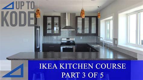 ikea kitchen cabinet  part    installing ikea