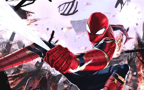 Iron Spider Background by Iron Spider Wallpapers Hd Wallpapers Id 24371