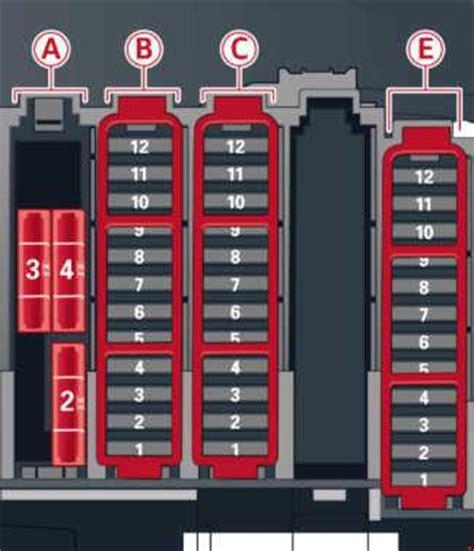 Audi A5 Fuse Diagram by 13 16 Audi A5 Fuse Box Diagram