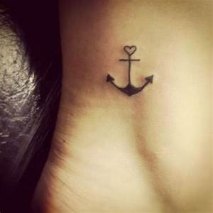 15 Cute Anchor Tattoos That Aren't Cliche - Pretty Designs