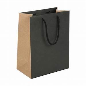 Sac Papier Kraft Deco : sacs papier kraft noir et naturel laval europe ~ Dallasstarsshop.com Idées de Décoration