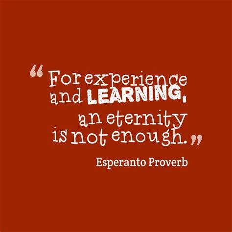 esperanto wisdom  experience