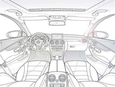 894 Best Interior Automotive Sketching And References