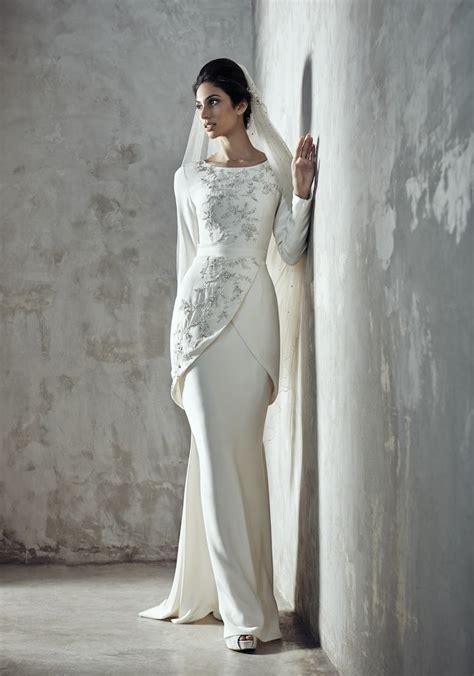 ideeen  malay wedding dress op pinterest