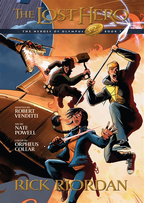 Rick Riordan The Lost Hero Graphic Novel