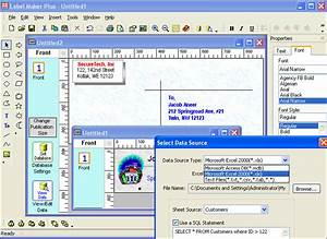 return address labels software free download With address label software