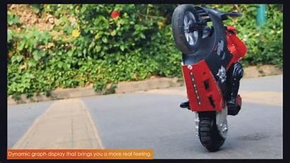 Motorcycle Rc Bike Speed Stunt Control Remote