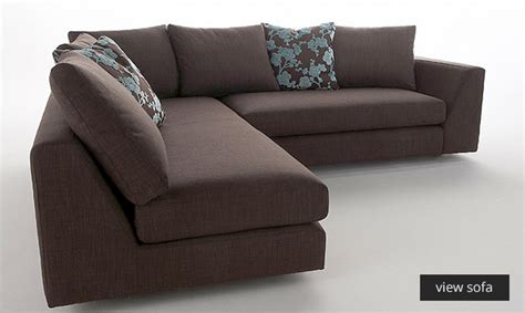 Large Comfortable Sectional Sofas by Small Corner Sofas For Small Rooms From Darlings Of Chelsea
