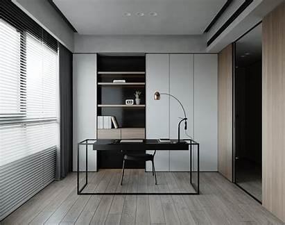 Interior Behance Office Furniture Apartment Modern Contemporary