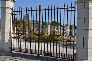 Portail Fer Forgé Plein : portail en fer forg plein style louis xviii bca ~ Dode.kayakingforconservation.com Idées de Décoration
