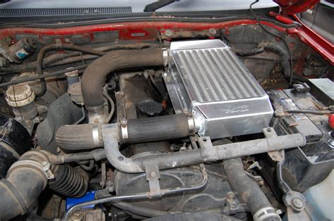 mitsubishi   pajero  uprated intercooler