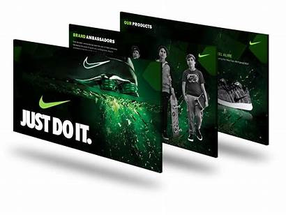 Nike Presentation Slidegenius Powerpoint Slide