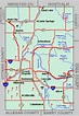 Kent County Map Tour lakes snowmobile ATV rivers hiking ...