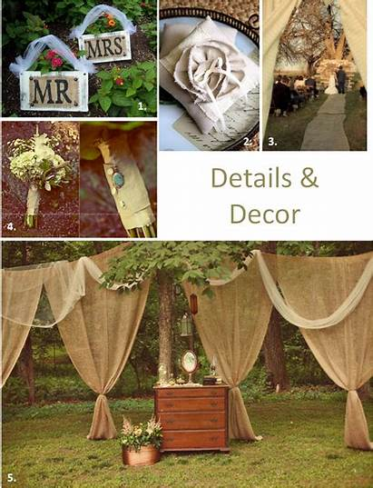 Burlap Decor Fall Decorations Theme Decorating Weddings
