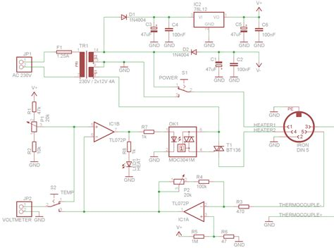 thermocouple with one stage and single rail all about circuits