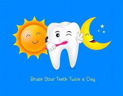 Teeth Brush Twice Protection Bleeding Gums Brushing