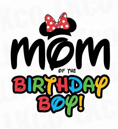 Daddy Mickey Birthday Boy Mommy Mouse Mom