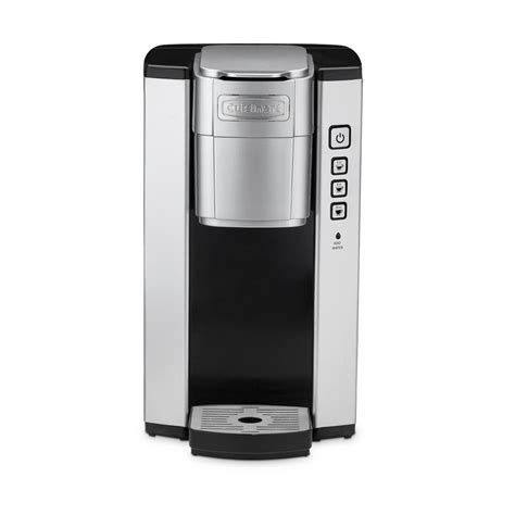 These makers allow for each cup of coffee to be brewed fresh on the spot. Cuisinart Compact Single Serve Coffee Maker-SS-5 - The Home Depot