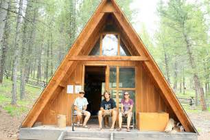 a frame cabin designs jenn and romy peel tree a frame cabin in idaho