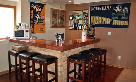 Basement Corner Bar Ideas by Hockey Door Decorations The S Cave Ideas For A