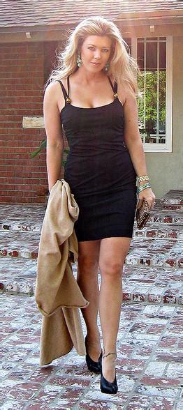 beauties wearing the little black dress