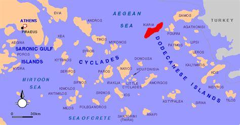 ikaria maps   historical maps  island ikaria