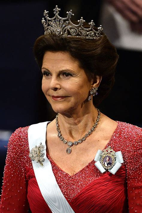 Queen Silvia of Sweden attends the Nobel Prize Awards ...