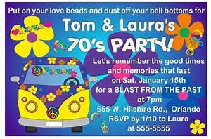 7039s party invitations ebay for 70 s wedding invitations