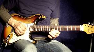 Bluesy Guitar Playing With A Vintage 1962 Fender