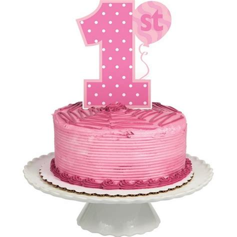 decoration gateau 1er anniversaire fille sibo sibon