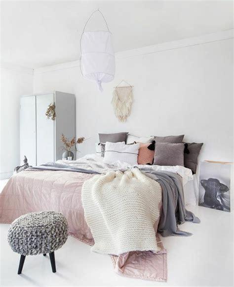 chambre grise et blanche chambre blanche et grise dco chambre blanche romantique