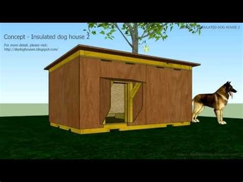 dog house plans concept insulated dog house