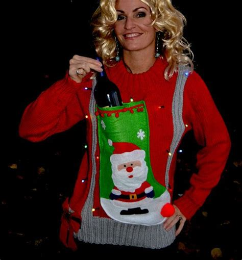 Best 25 Tacky Christmas Sweater Ideas On Pinterest Ugly Sweater