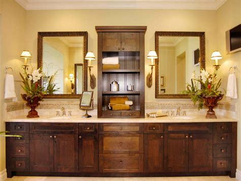 master bathroom cabinet ideas craftsman bathroom photos hgtv