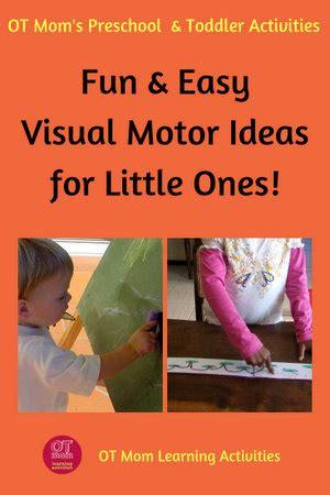 visual motor activities  toddlers  preschoolers