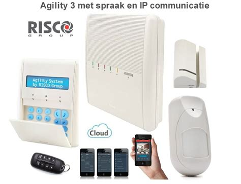 risco agility 3 risco agility 3 alarmsysteem basis kit draadloos met spraak en ip communicatie met gratis app
