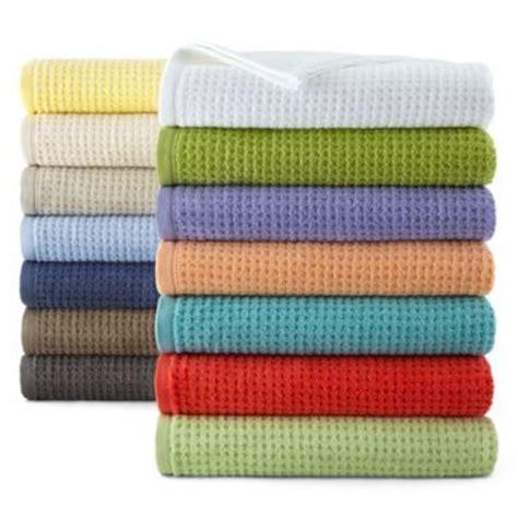 jc penney home bath towels     color
