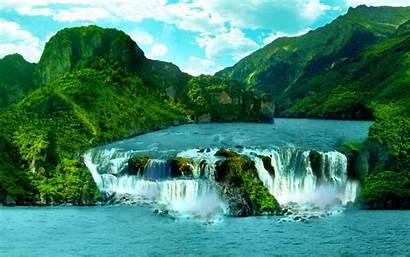 Waterfall Tropical Wallpapers13 2560 1600