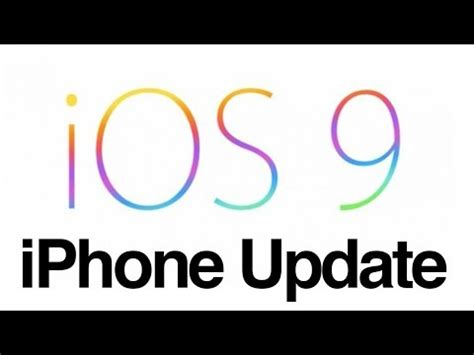 how to update iphone 5s how to update to ios 9 iphone 4s iphone 5 iphone 5c iphone