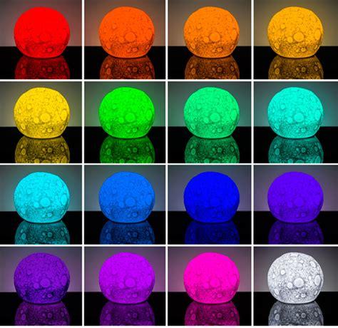 Lunar Light Show Glowing Moon Mood Lamp