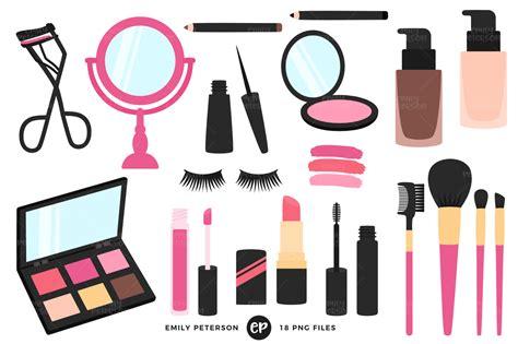 Makeup Clipart Makeup Artist Clipart By Emily Peterson Studio