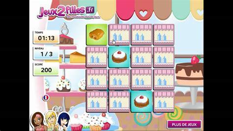 jeu de cuisine jeu de paires de gâteaux jeux de cuisine jeux de fille